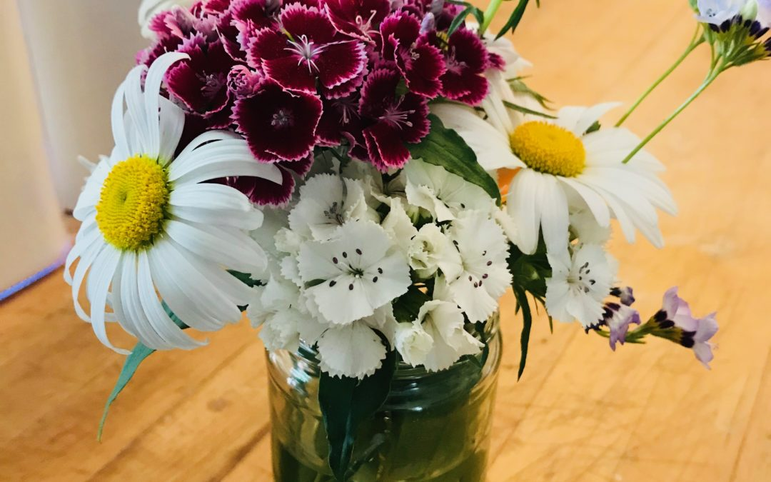 flowers and tarragon