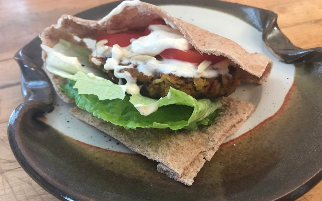 Curried Cauliflower Burgers