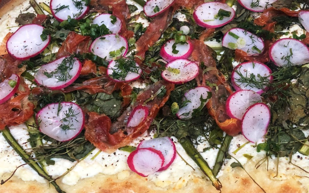 Shake off the Winter Doldrums With Spring On a Pizza
