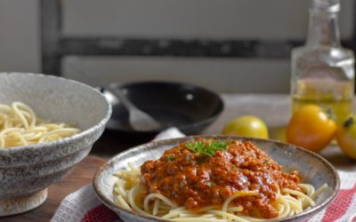 Speedy Weeknight Bolognese